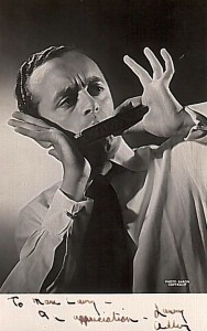 Larry Adler playing the Harmonica (photo dedicated to Marc Lavry)