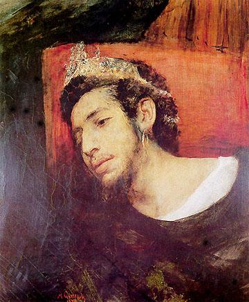 """מאוריצי גוטליב, """"אחשוורוש"""" (היהודי הנודד), 1876"""