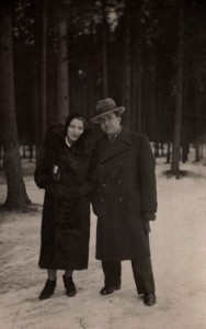 Marc and Helena Lavry, Riga 1934