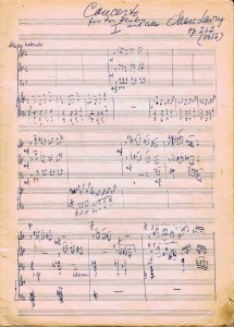 Concerto for Two Flutes, Cello and Piano, Op. 262